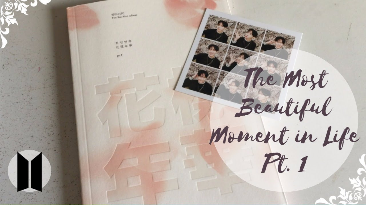 Unboxing Bts Bangtan Boys 방탄소년단 3rd Mini Album The Most Beautiful Moment In Life Pt 1 Pink Ver Youtube
