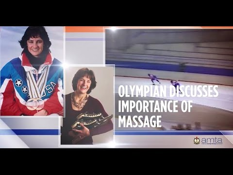 Olympians + Massage: Bonnie Blair