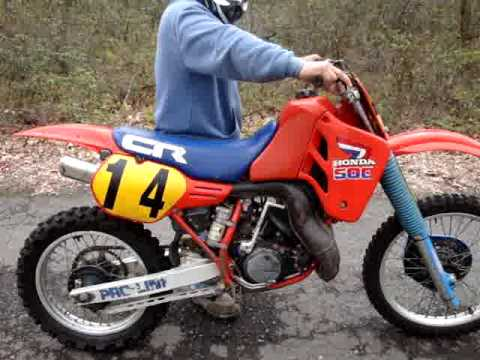 1985 honda cr500 cr 500 4 sale on ebay 5 2009 youtube. Black Bedroom Furniture Sets. Home Design Ideas