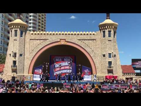 Weber State Cheer National Title Routine Daytona Florida 2017