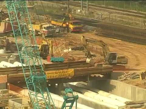 History of the Construction of KCRC East Rail Extensions (English version)