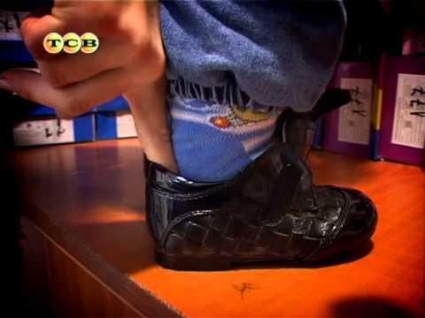 Первая обувь для малыша до года. Мамина школа. ТСВ