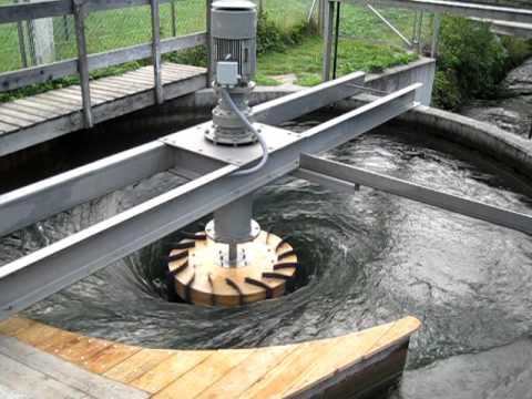ZOTLÖTERER - worldwide first Gravitation Water Vortex Power Plant