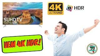 [UNBOXING] TV 4K HDR Samsung KS7000 (8000) - Chegoooou