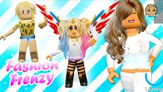 Fashion Frenzy Dress Up Runway Show Video - Cookie Swirl C Let's Play Online Roblox