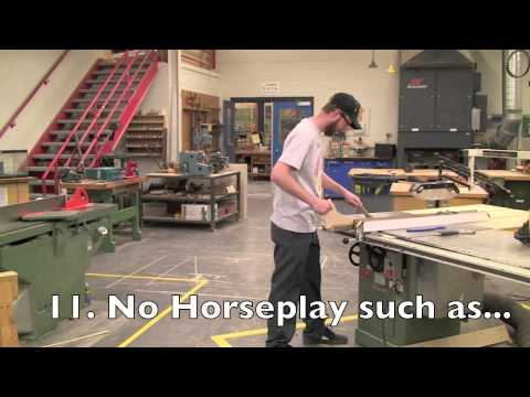 Industrial Arts General Shop Safety Video