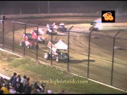 Donnie Ray Crawford's First Sprint Car race