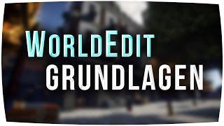 WorldEdit ► GRUNDLAGEN - Minecraft 1.12 & 1.8.8 - Tutorial [German]