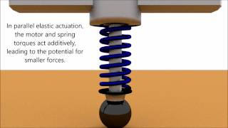 A Comparison of Series and Parallel Elasticity in a Monoped Hopper