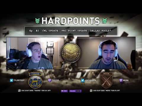 WWII Hardpoints Ep#3  | CWL November Update, Pro points and Possible Dallas Pools