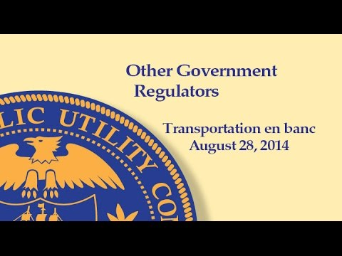 Other Government Regulators