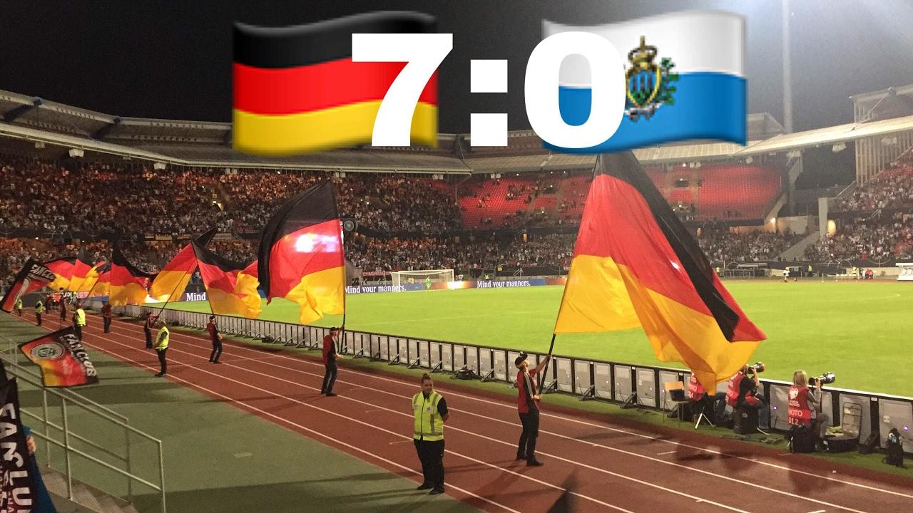 Deutschland San Marino 13 0