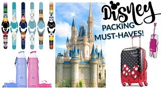 DISNEY PACKING LIST! | WHAT TO TAKE TO DISNEY | WHAT YOU'RE FORGETTING TO TAKE TO DISNEY