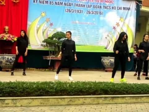 Nhảy hiện đại trường THPT LÊ ÍCH MỘC