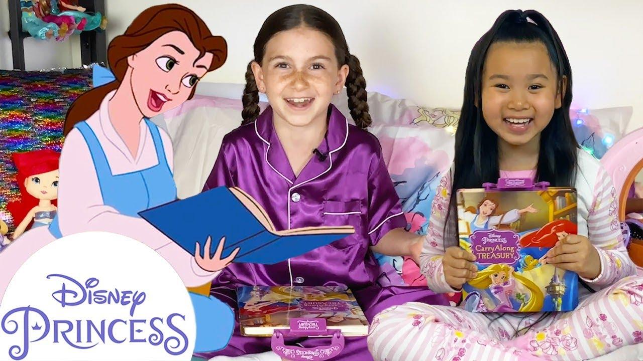 Belle & Ariel Bedtime Stories   Disney Princess Stories   Disney Princess Club