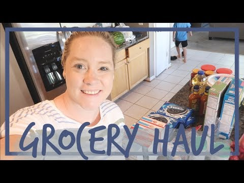 NO PRODUCE GROCERY HAUL | IN THE KITCHEN