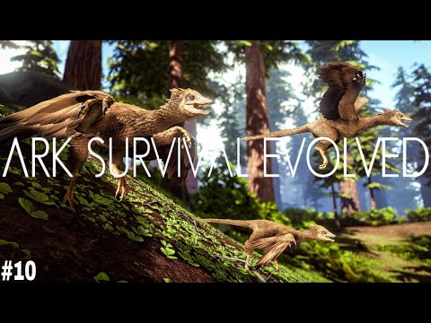 ARK Survival Evolved | PHENOMENAL! FLYING TOUR OF THE ISLAND! AMAZING CREATURES! [ARK | PS4 PRO] #10