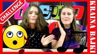 DISCO POLO SONG CHALLENGE ♫ KTO ŁADNIEJ ŚPIEWA? ♫ MONIA vs AGATKA ♫ ŚPIEWAJ I BAW SIĘ Z NAMI