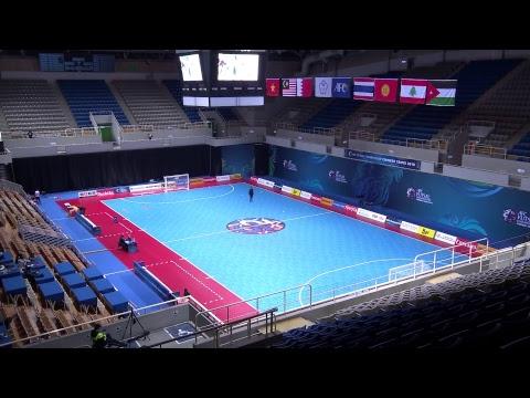 Kyrgyz Rpublic vs Lebanon (AFC Futsal Championship 2018: Group Stage)