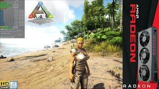 Ark Survival Evolved High Settings 2560x1440 | RADEON VII | i7 8700K 5.2GHz