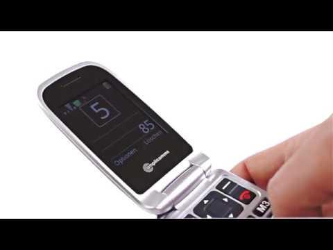Seniorenhandy amplicomms PowerTel M7510-3G