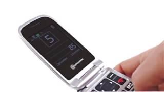 Produktvideo zu Seniorenhandy amplicomms PowerTel M7510-3G Schwarz