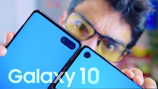 GALAXY S10 vs S10 PLUS!!!!!!! [Snapdragon vs Exynos]