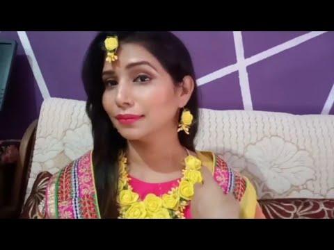 Bridal Haldi Makeup Tutorial !!!!!! Lifestyle Nagma thumbnail