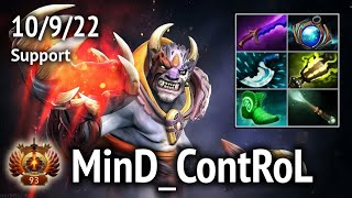 Lion MinD ContRoL Liquid Support  Full game  Dota 2