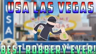 Roblox USA Las Vegas | Best Robbery Ever!?