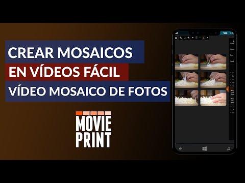 Cómo Crear Mosaicos en Vídeos   Vídeo Mosaico de Fotos