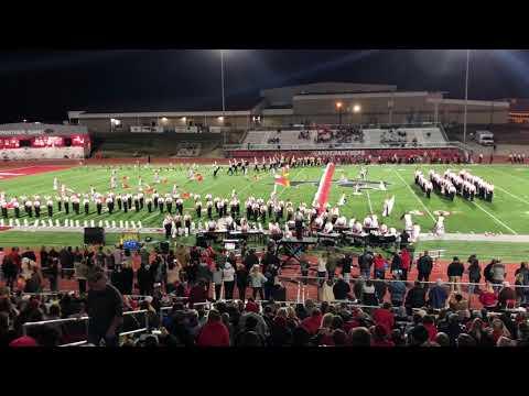 Cabot High School Marching Band 2018 Senior Night Performance