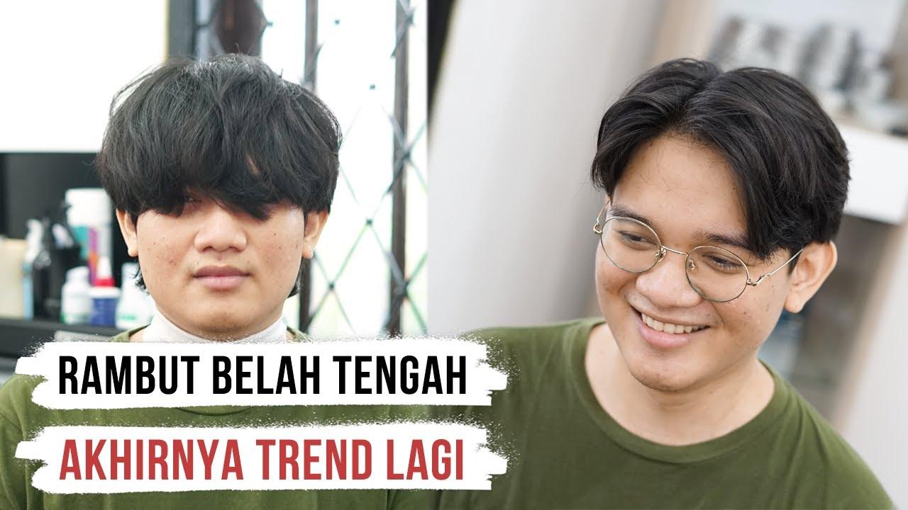 Potong Rambut Belah Tengah Curtains Hairstyle 90s Youtube
