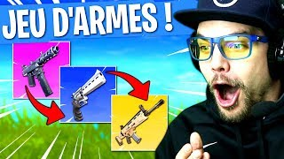 JEU D'ARMES sur FORTNITE: BATTLE ROYALE !! thumbnail