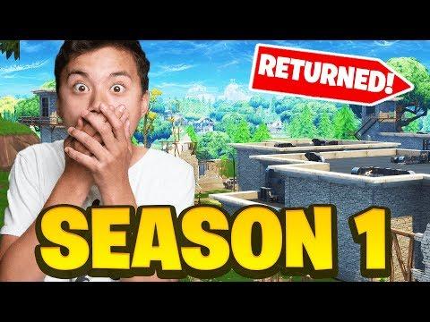 We RETURNED To *SEASON 1* OG Fortnite    (Insane) - YouTube