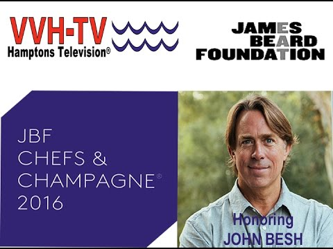 John Besh Named James Beard Foundation's  2016 Chefs & Champagne® Honoree on HamptonsTV®