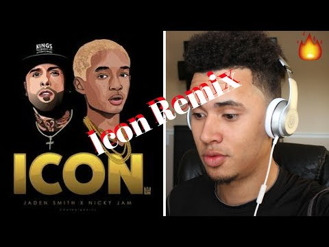 Jaden Smith - Icon (Remix) ft. Nicky Jam (Official Video) Reaccion