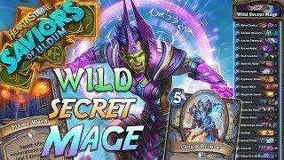 Wild Secret Mage Deck   Saviors of Uldum   Hearthstone