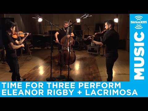 Time For Three performs Eleanor Rigby / Lacrimosa mashup