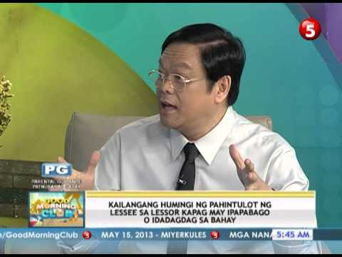 News5E | THE IMPORTANCE OF RENT CONTROL LAW by Atty. Mel Sta. Maria