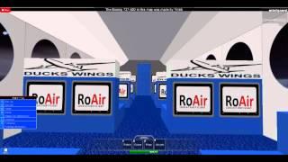 roblox (alt vid) fliegen roair boeing 727 lecton-lecton