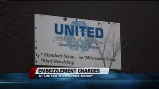 Embezzlement case at Milwaukee scrap yard company