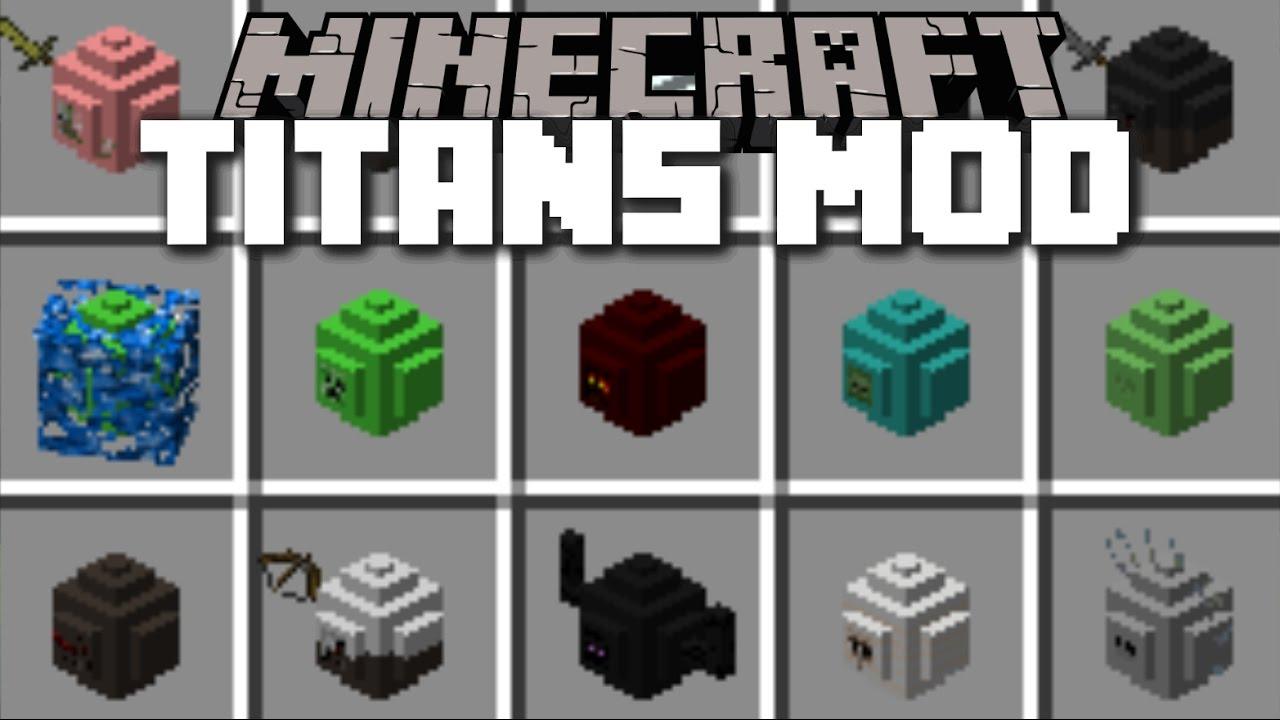 Minecraft Mob Titan Mod Spawn Huge Titans In Minecraft