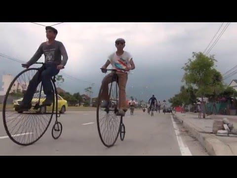 จักรยานล้อโตโบราณ (ซ้อมปั่น)
