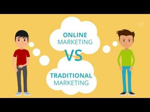 Online Marketing Vs Traditional Marketing