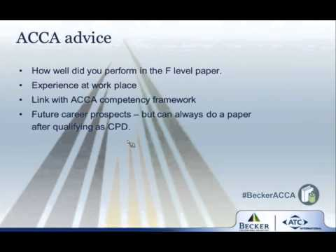 Essential Information Acca Papers