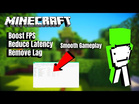 How To DRASTICALLY Improve FPS In Minecraft - FPS Boost Guide