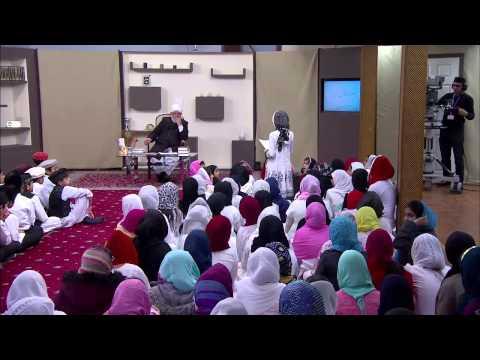 Bustan-e-Waqf-e-Nau 30th November 2013 with Hazrat Mirza Masroor Ahmad