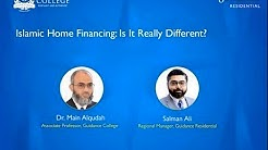 Islamic Home Financing: Is It Really Different? | Guidance Residential, Islamic Home Financing USA