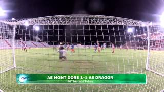 2013 OFC Champions League / 2013.04.05 / AS Mont Dore vs AS Dragon Highlights